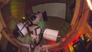 ATLAS telescope unit on Haleakalā, Maui. Photo credit: Henry Weiland