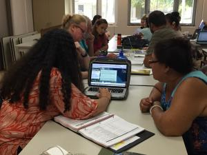 Environmental Law Clinic students work with Native Hawaiian community members on water rights.